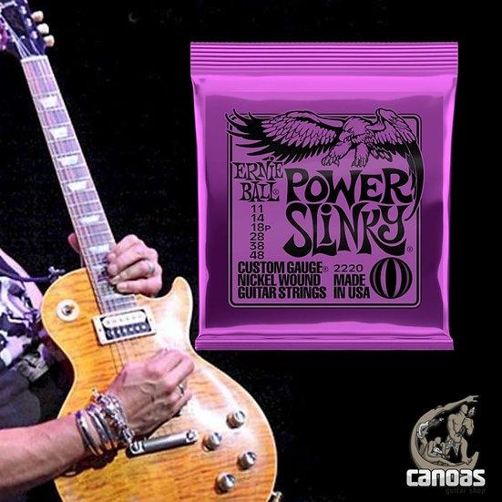 Encordoamento Ernie Ball .011-048 Guitarra Power Slinky Niquel