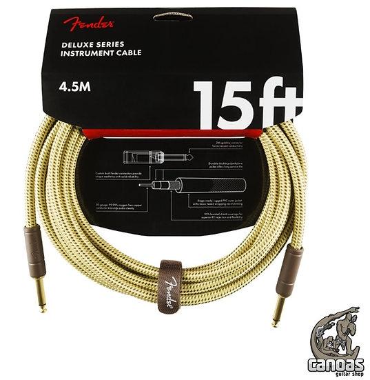 Cabo Fender Deluxe Series Tweed para Instrumentos 4,5m