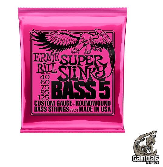 Encordoamento Ernie Ball Super Slinky Bass 5 040-125 P/ Baixo