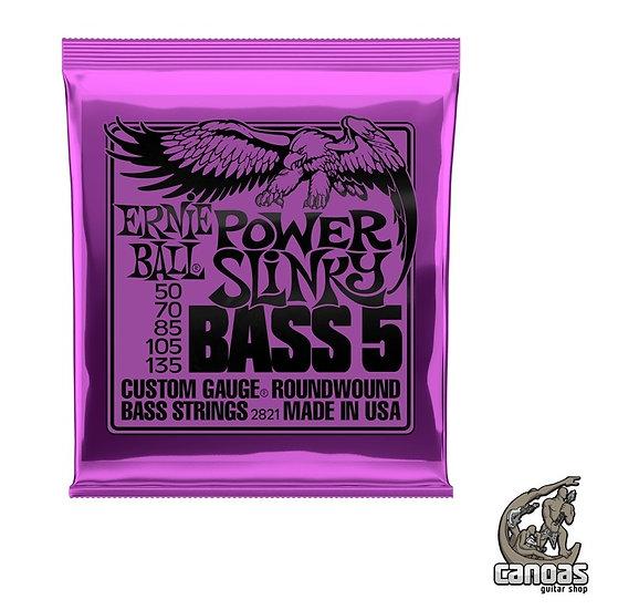 Encordoamento Ernie Ball Power Slinky Bass 5 050-135 p/baixo