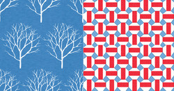 Oshawa Blue & Red Geo