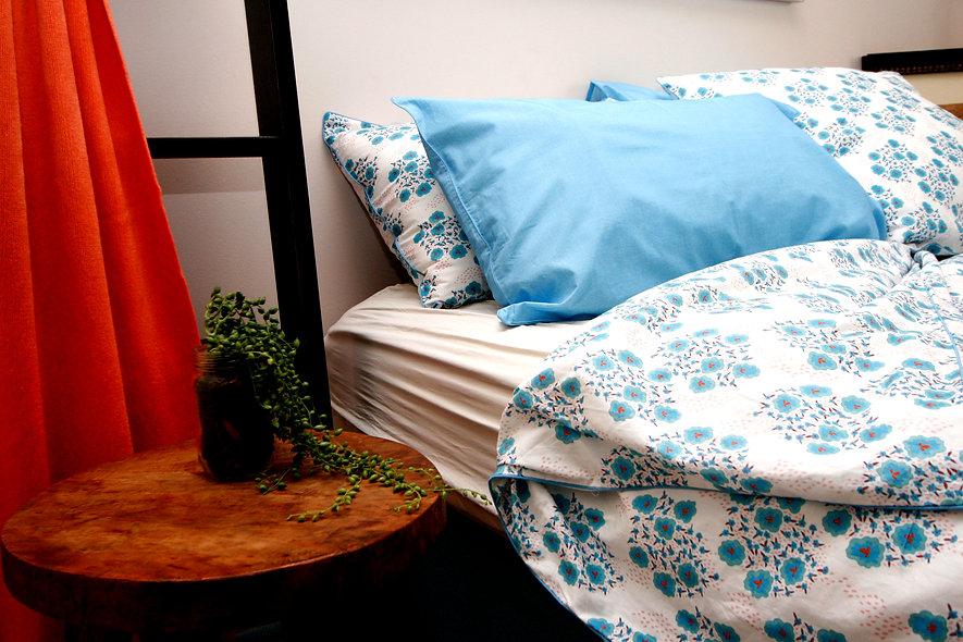 Osaka Quilt Cover & European Pillowcases from