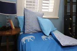 Odessa Blue Quilt Cover