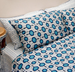 Odienne Blue Quilt Cover