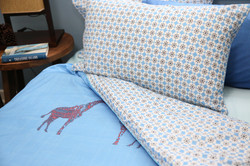 Orly Blue Quilt Cover