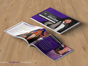 Sponsorship Packet Design for W Hotel