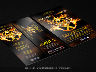 Concert Flyer & Ticket Design