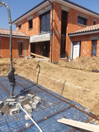 Construction maison individuel avec piscine