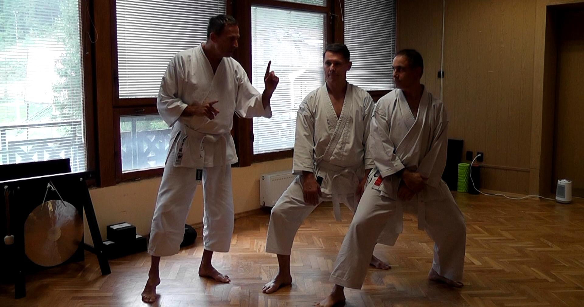 Trening IV Sesshin Karate-Do
