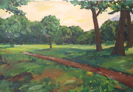"""""""Highland Park Landscape"""""""