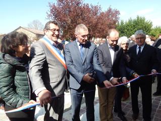 Ils ont inauguré la nouvelle mairie de la commune d'Auradé