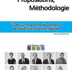 """Les Élus """"Unis Pour le Gers"""" rédigent un rapport sur la démographie médicale"""