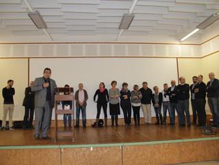 Auradé : Vœux de Francis Larroque, Conseiller départemental et Maire