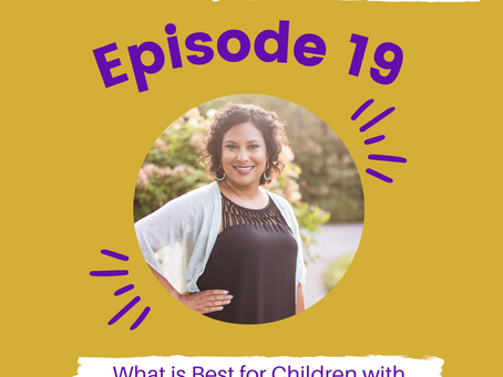 Episode #19: What is best for children with Chantal Cox