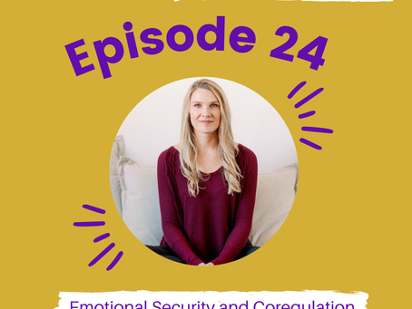 Episode #24: Emotional Security and Co-regulation with Katie Crosby