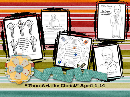"""Thou Art the Christ"" April 1-14"