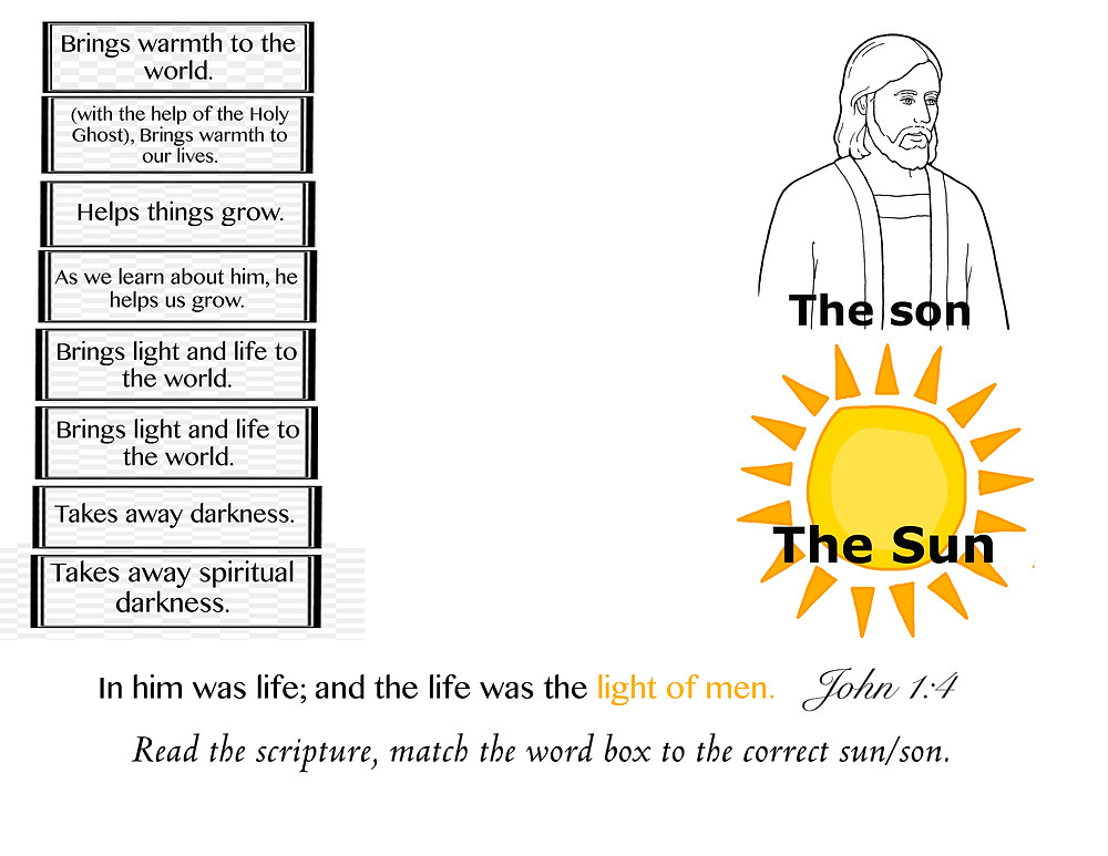 the Son and Sun