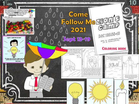 Come follow me- For Primary, D&C 102-105, Sept. 13-19, Free LDS primary lesson helps.