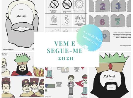 Version - Português: Vem, e Segue-me 2020 - Lição 4 a 10 de Maio [Mosias 11-17]
