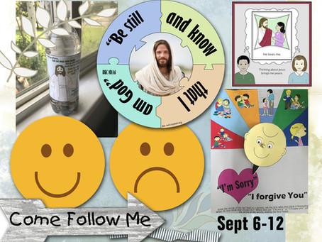 Come Follow Me- For Primary 2021,D&C 98-101, Sept. 6-12, Free LDS primary lesson helps.