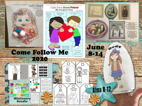 Come Follow Me 2020, June 8-14, Alma 8-12, LDS Free Primary Lesson Helps