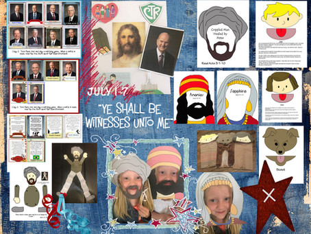 """""""Ye Shall Be Witnesses unto Me""""- July 1-7"""