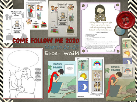 Come Follow Me 2020, Enos- Words of Mormon, March 23-29