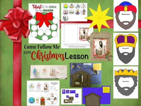 "Come Follow Me, December 16-22 ""Good tidings of Great Joy"" Christmas"