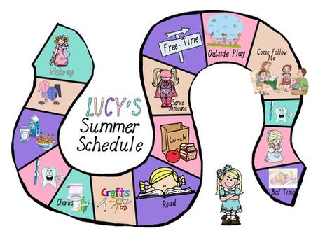 Copy of Summer Schedule