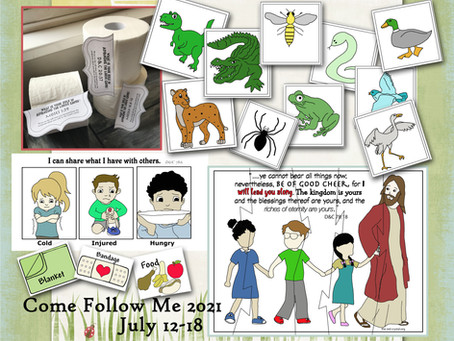 Come follow Me 2021, Free LDS Primary lesson helps, July 12-18, D&C 77-80.