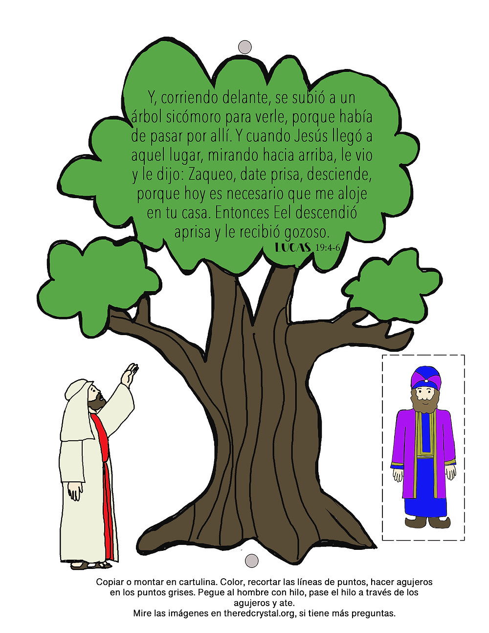 Zaqueo … | Zacchaeus, Bible coloring pages, Sunday school coloring ... | 1294x1000