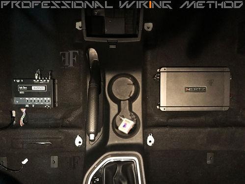 Audison Bit ten procesor installation done at ff car accessories, Chennai