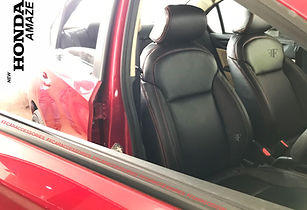 Customised seat cover installed by team ff car accessories, leader in car seat covers, Chennai
