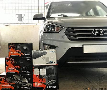 Hyundai Creta audio setup, In car entertainment for creta