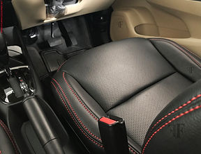 New Honda Amaze Seat Cover installed by team ff car accessories, Chennai