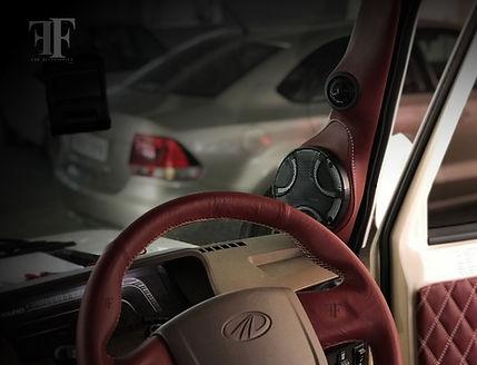 Mahindra Bolero modification done at ff car accessories, Chennai. Best car modifier in Chennai