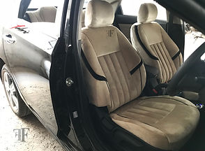 fabric seat cover now available at ff car accessories, Chennai