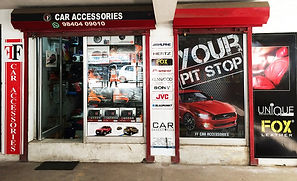 ff car accessories Chennai located in Woods Road