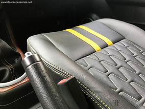 Maruti Swift Seat Cover Installed by team ff car accessories. Chennai