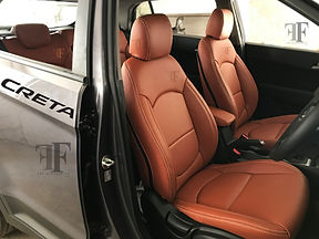Hyundai Creta Seat Cover at ff car accessories, Chennai