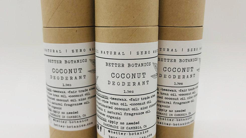 Coconut Natural Deodorant