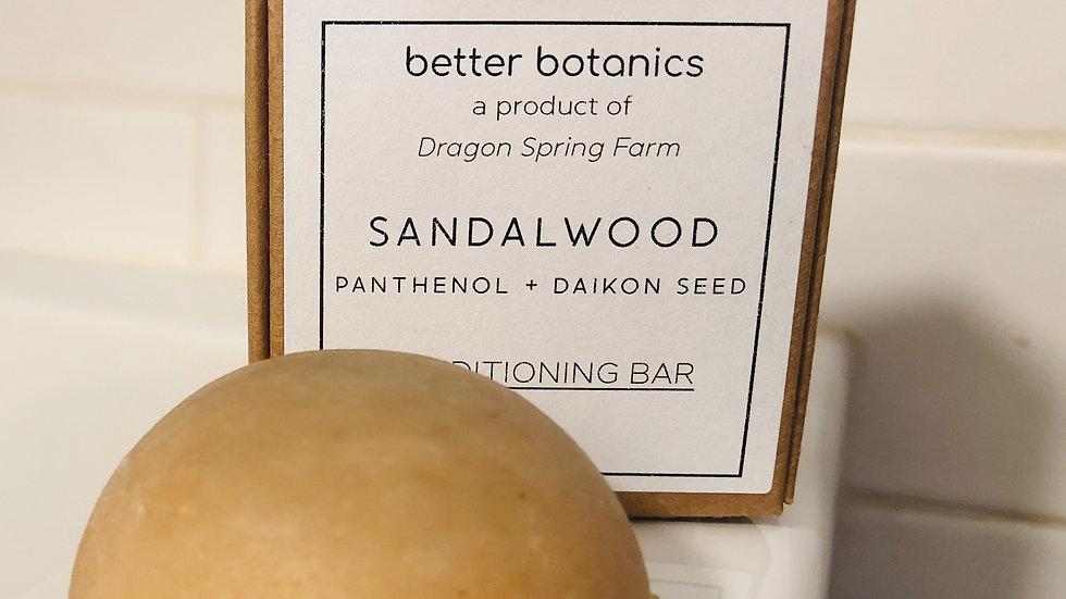 Sandalwood Conditioning Bar
