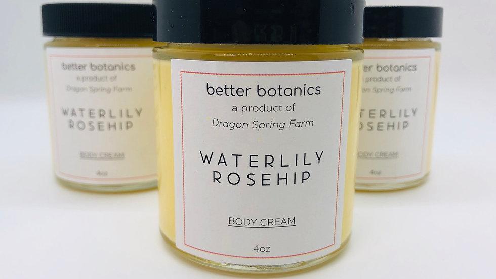 Waterlily Rosehip Body Cream