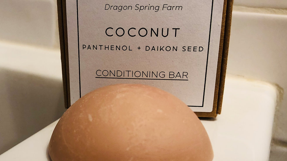 Coconut Conditioning Bar