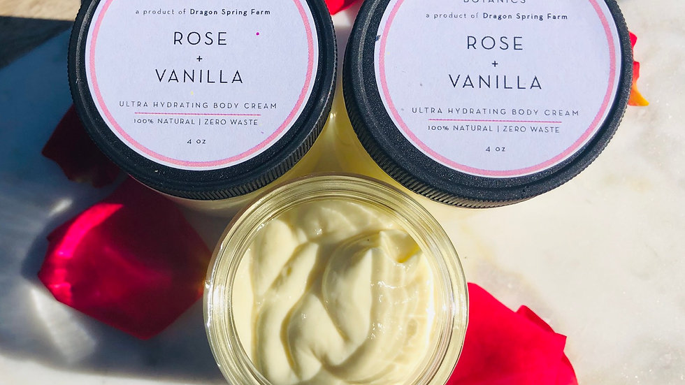 Rose + Vanilla Ultra Hydrating Body Cream