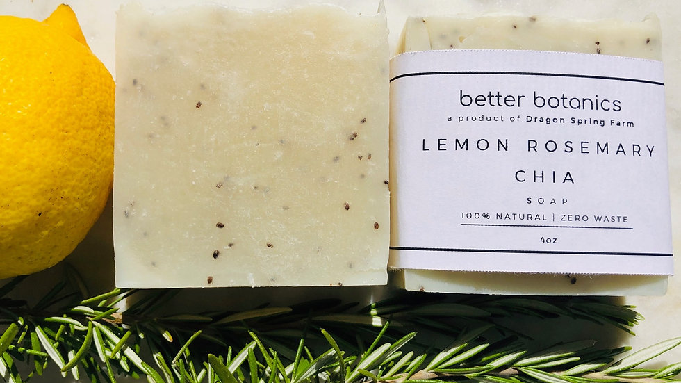 Lemon Chia Soap