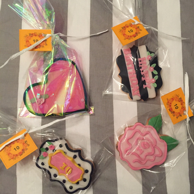 wrapped love cookies