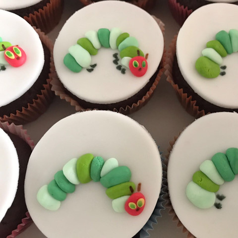 Cupcakes mille pieds