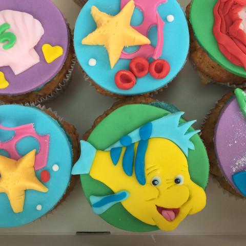 Cupcakes Mermaid