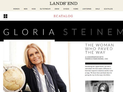 Lands End & Gloria Steinem: So What's the Big Deal?